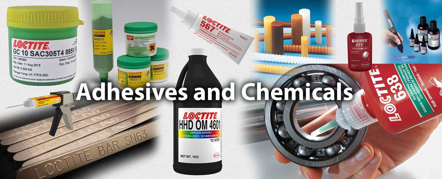 Adhesives and Chemicals header