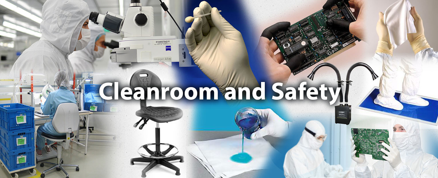 Cleanroom and Safety Header